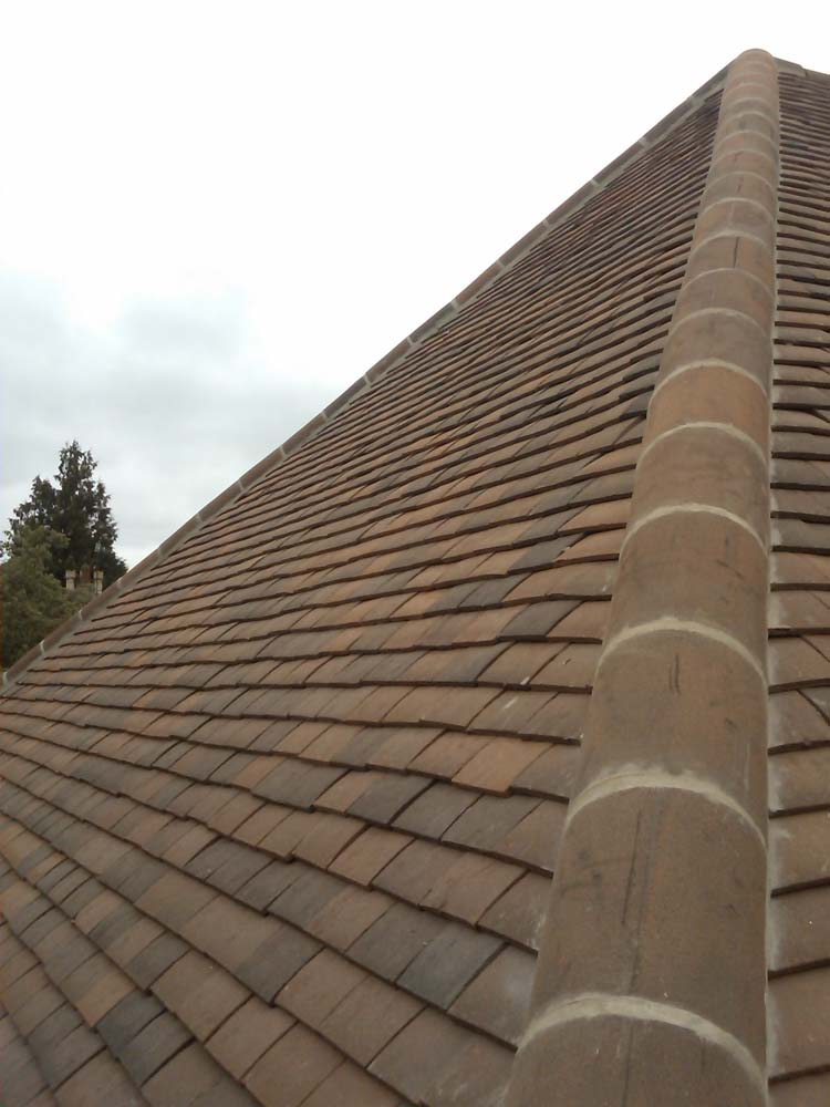 Effective tiled roofing